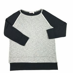 Fresh Produce  Knit Top Boxy 3/4 Sleeve Small